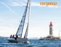 Torqeedo Electric Boating 2017
