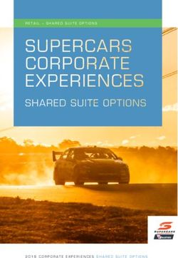 2018 corporate experiences shared suite options retail - Supercars