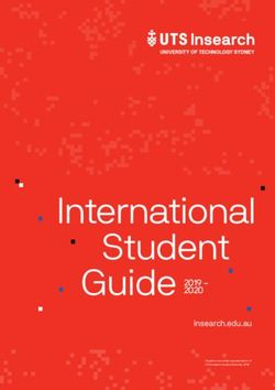 International Student Guide 2019-2020 - University of Technology Sydney