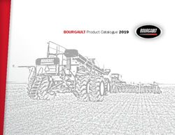BOURGAULT Product Catalogue 2019