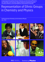 Representation of Ethnic Groups in Chemistry and Physics