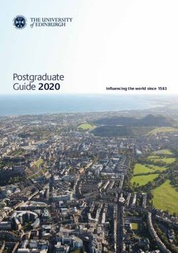 The University of Edinburgh - Postgraduate Guide 2020