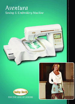 Aventura - Sewing & Embroidery Machine