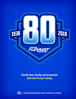 FLEXAUST 1938-2018 - Flexible Hose, Ducting and Accessories