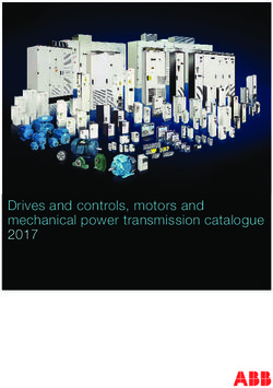 Drives and controls, motors and mechanical power transmission catalogue 2017 - ABB Group