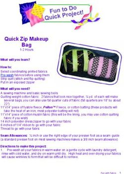 Quick Zip Makeup Bag - 1 2 Hours - What will you learn?
