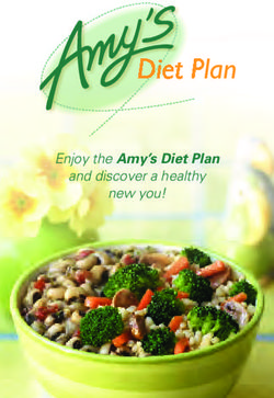 Enjoy the Amy's Diet Plan and discover a healthy new you!