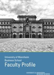 Faculty Profile - University of Mannheim Business School