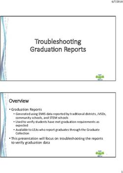 Troubleshooting Graduation Reports