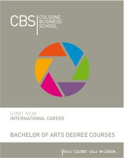 Bachelor of arts Degree courses