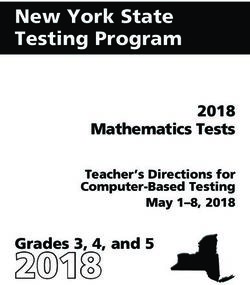 New York State Testing Program