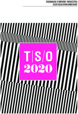Tasmanian Symphony Orchestra 2020 Education