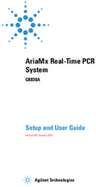 AriaMx Real-Time PCR System - G8830A