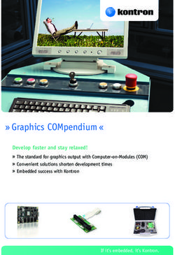 """ Graphics COMpendium "" - develop faster and stay relaxed!"